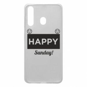 Etui na Samsung A60 Happy Sunday