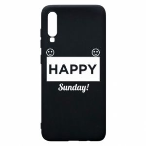 Etui na Samsung A70 Happy Sunday