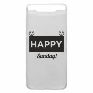 Etui na Samsung A80 Happy Sunday