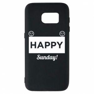 Etui na Samsung S7 Happy Sunday