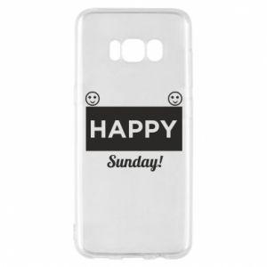 Etui na Samsung S8 Happy Sunday