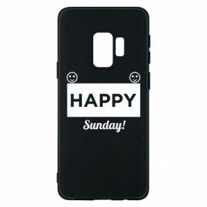 Etui na Samsung S9 Happy Sunday