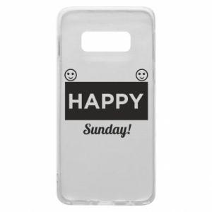 Etui na Samsung S10e Happy Sunday