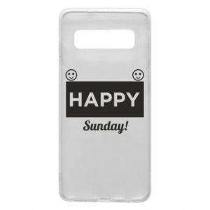 Etui na Samsung S10 Happy Sunday