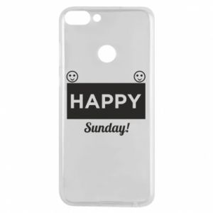 Etui na Huawei P Smart Happy Sunday