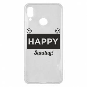 Etui na Huawei P Smart Plus Happy Sunday