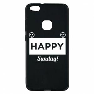 Etui na Huawei P10 Lite Happy Sunday