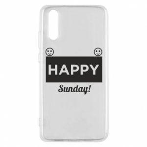Etui na Huawei P20 Happy Sunday