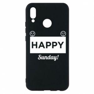 Etui na Huawei P20 Lite Happy Sunday