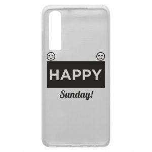 Etui na Huawei P30 Happy Sunday