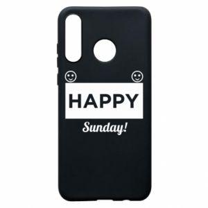 Etui na Huawei P30 Lite Happy Sunday
