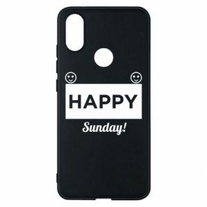 Etui na Xiaomi Mi A2 Happy Sunday