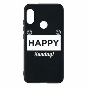 Etui na Mi A2 Lite Happy Sunday