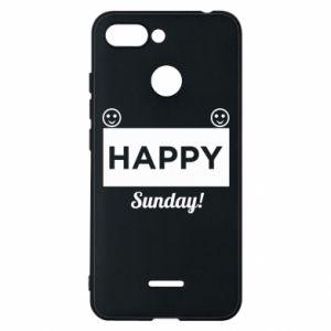 Etui na Xiaomi Redmi 6 Happy Sunday