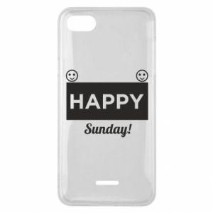 Etui na Xiaomi Redmi 6A Happy Sunday