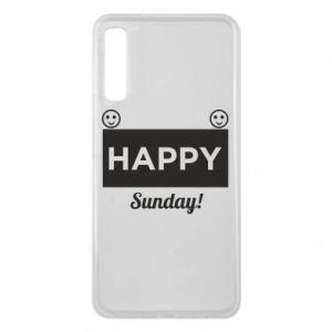 Etui na Samsung A7 2018 Happy Sunday