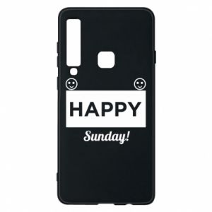 Etui na Samsung A9 2018 Happy Sunday