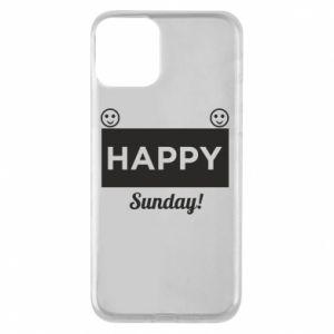 Etui na iPhone 11 Happy Sunday