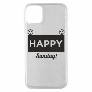 Etui na iPhone 11 Pro Happy Sunday