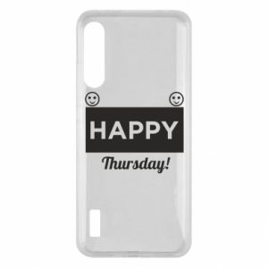 Etui na Xiaomi Mi A3 Happy Thursday