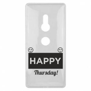 Etui na Sony Xperia XZ2 Happy Thursday