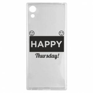 Etui na Sony Xperia XA1 Happy Thursday
