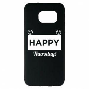 Etui na Samsung S7 EDGE Happy Thursday