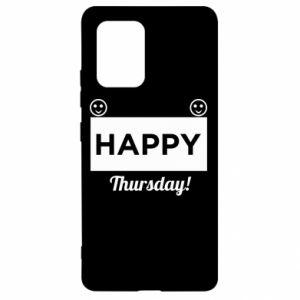 Etui na Samsung S10 Lite Happy Thursday