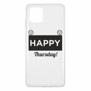 Etui na Samsung Note 10 Lite Happy Thursday