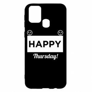 Etui na Samsung M31 Happy Thursday
