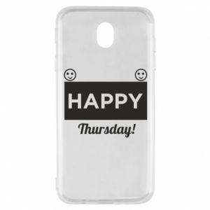 Etui na Samsung J7 2017 Happy Thursday