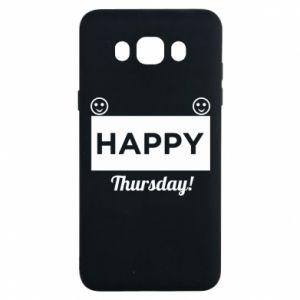 Etui na Samsung J7 2016 Happy Thursday
