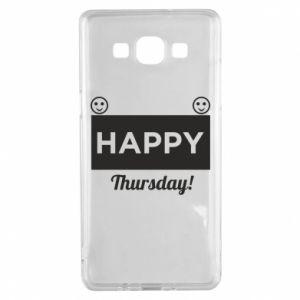 Etui na Samsung A5 2015 Happy Thursday