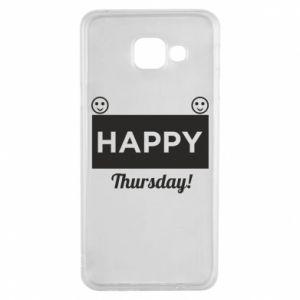 Etui na Samsung A3 2016 Happy Thursday