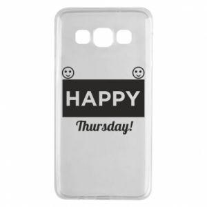 Etui na Samsung A3 2015 Happy Thursday