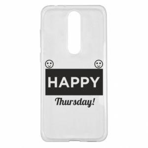 Etui na Nokia 5.1 Plus Happy Thursday