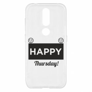 Etui na Nokia 4.2 Happy Thursday