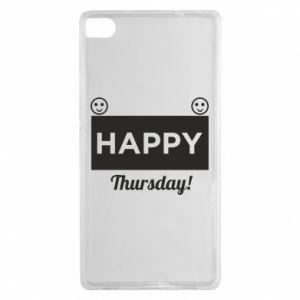 Etui na Huawei P8 Happy Thursday