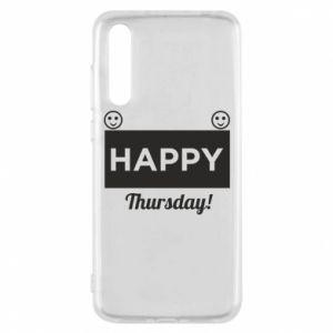 Etui na Huawei P20 Pro Happy Thursday