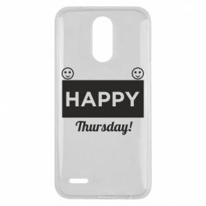 Etui na Lg K10 2017 Happy Thursday