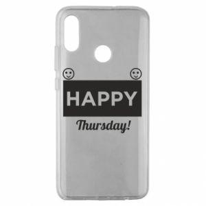 Etui na Huawei Honor 10 Lite Happy Thursday