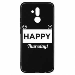 Etui na Huawei Mate 20 Lite Happy Thursday