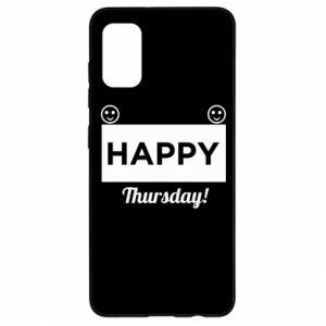 Etui na Samsung A41 Happy Thursday