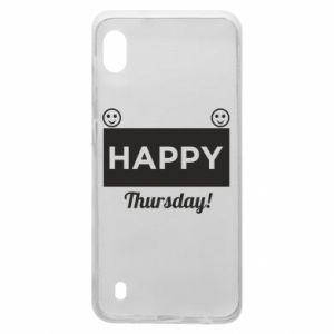 Etui na Samsung A10 Happy Thursday