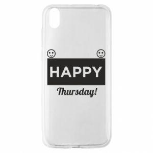 Etui na Huawei Y5 2019 Happy Thursday