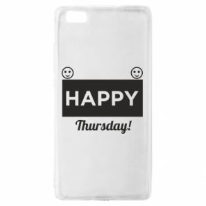 Etui na Huawei P 8 Lite Happy Thursday