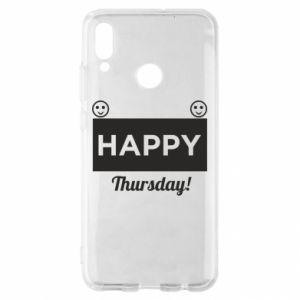 Etui na Huawei P Smart 2019 Happy Thursday