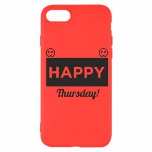 Etui na iPhone SE 2020 Happy Thursday
