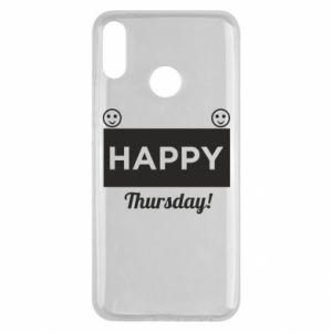 Etui na Huawei Y9 2019 Happy Thursday