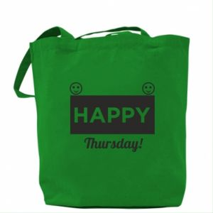 Torba Happy Thursday